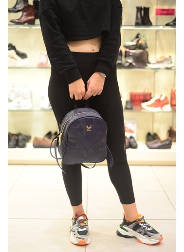 Versace 16V69 Italia 2582 Lacıvert Kadın Sırt Çanta Lacivert